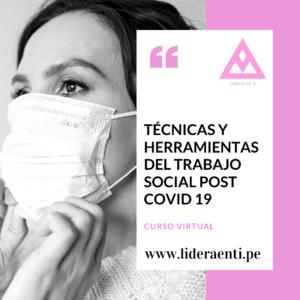 Técnicas y herramientas del trabajo social post COVID 19