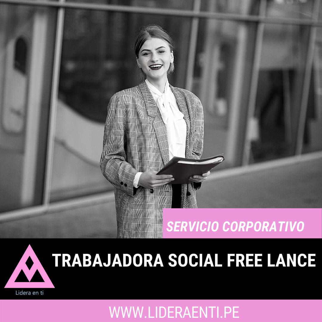 trabajadora social free lance